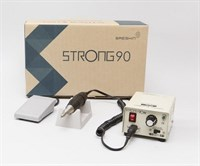 Strong 90/102 аппарат для маникюра и педикюра, коррекции ногтей Стронг 90 (с педалью в коробке)