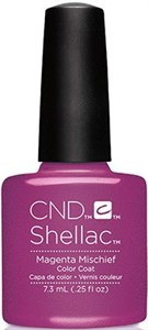 "CND Shellac Magenta Mischief, 7,3 мл. - гель лак Шеллак ""Пурпурный вред"""