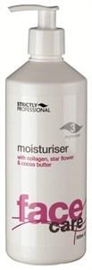 Strictly Moisturiser with Collagen for Dry/Mature Skin, 500ml.- Омолаживающая увлажняющая эмульсия с коллагеном, для сухой и увядающей кожи