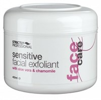 Strictly Sensitive Facial Exfoliant with Aloe Vera & Chamomile, 450ml.- Скраб эксфолиант для чувствительной кожи лица