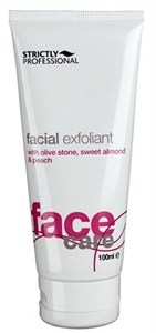 Strictly Facial Exfoliant, 100 мл. - Скраб эксфолиант для лица, с миндалем и скорлупой грецкого ореха