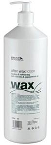 Strictly After Wax Lotion with Tea Tree & Peppermint, 1л.- лосьон после депиляции охлаждающий и увлажняющий