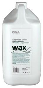 Strictly After Wax Lotion with Tea Tree & Peppermint, 4л.- лосьон после депиляции охлаждающий и увлажняющий