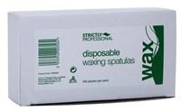 Strictly Disposable Wooden Spatulas, 100шт.- одноразовые деревянные шпатели