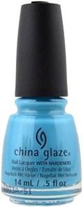 "China Glaze What I Like About Blue, 14 мл. - Лак для ногтей China Glaze ""Моя голубая мечта"""