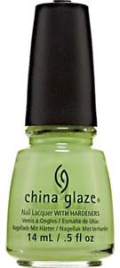 "China Glaze Grass Is Lime Greener, 14 мл. - Лак для ногтей ""Зеленее лайма"""
