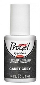 """SuperNail ProGel Cadet Grey, 14 мл. - гелевый лак """"Серый кадетский"""""""