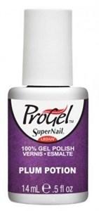 """SuperNail ProGel Plum Potion, 14 мл. - гелевый лак """"Сливовая настойка"""""""