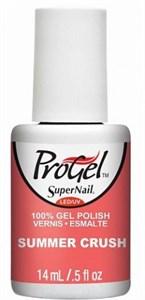 "SuperNail ProGel Summer Crush, 14 мл. - гелевый лак ""Летний взрыв"""