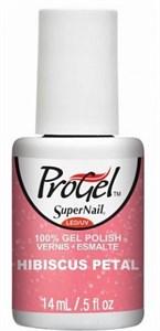 "SuperNail ProGel Hibiscus Petal, 14 мл. - гелевый лак ""Листок гибискуса"""