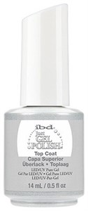Верхнее покрытие IBD Just Gel Top Coat, 14 мл. топ для гель-лака