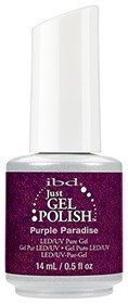 "IBD Just Gel Polish Purple Paradise, 14мл - гель лак IBD ""Пурпурный рай"""