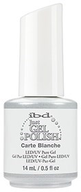 "IBD Just Gel Polish Carte Blanche, 14 мл. - гель лак IBD ""Карт Бланш"""