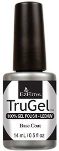 EzFlow TruGel Base Coat, 14 мл. - база для гель лака, основа, базовое покрытие