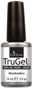 "EzFlow TruGel Marshmallow, 14 мл. - гелевый лак ""Зефир"""