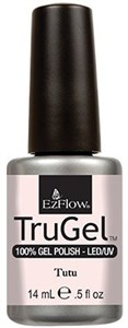 "EzFlow TruGel Tutu, 14 мл. - гелевый лак ""Кружева балета"""