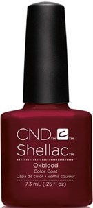 "CND Shellac Oxblood, 7,3 мл. - гель лак Шеллак ""Кровавый"""