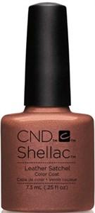 """CND Shellac Leather Satchel, 7,3 мл. - гель лак Шеллак """"Кожаный рюкзак"""""""
