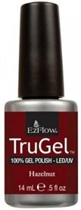 """EzFlow TruGel Hazelnut, 14 мл. - гелевый лак """"Лесной орех"""""""