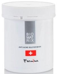 BioMatrix FarmLine Anti Acne Sulfur Mask, 250 мл. - Маска анти-акне с серой