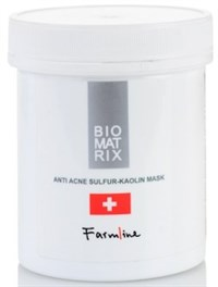 FarmLine Anti Acne Sulfur-Kaolin Mask, 250мл.- Маска анти-акне с серой и каолином