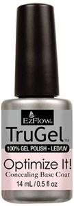 EzFlow TruGel Concealing Optimize It! Base Coat, 14 мл. – камуфлирующая база для гель лака