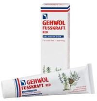 Gehwol Fusskraft Rot Trockene Haut, 75 мл.- Красный бальзам для сухой кожи, согревающий