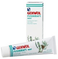 Gehwol Fusskraft Mint, 75 мл. - мятный охлаждающий бальзам для ног