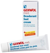 Gehwol Med Deodorant Foot Cream, 75 мл.- Крем-дезодорант