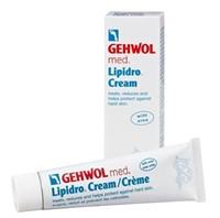 Крем гидробаланс Gehwol Med Lipidro Cream, 125 мл. для сухой и жёсткой кожи ног