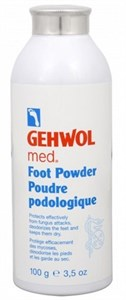 Gehwol Med Foot Powder, 100 гр.- Пудра-адсорбент