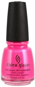 """China Glaze Neon Pink Voltage, 14мл.-Лак для ногтей """"Неоновый. Розовое напряжение"""""""