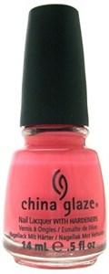 "China Glaze Pink Plumeria, 14 мл. - Лак для ногтей ""Розовая плюмерия"""