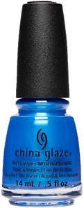 "China Glaze Crushin' On Blue, 14 мл.- Лак для ногтей ""Измельченный синий"""