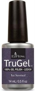 """EzFlow TruGel Ice Scorned, 14 мл. - гелевый лак """"Презренный лёд"""""""