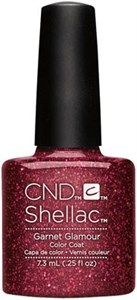 "CND Shellac Garnet Glamour, 7,3 мл. - гель лак Шеллак ""Очарование граната"""