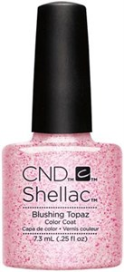 "CND Shellac Blushing Topaz, 7,3 мл. - гель лак Шеллак ""Застенчивый топаз"""