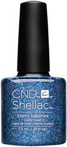 "CND Shellac Starry Sapphire, 7,3 мл. - гель лак Шеллак ""Звездный сапфир"""