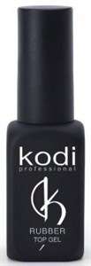 Kodi Rubber Top Gel, 12 мл. - топ каучуковый для гель лака
