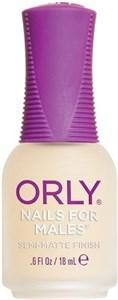 ORLY Nails For Males, 18 мл. - мужской матовый лак для ногтей