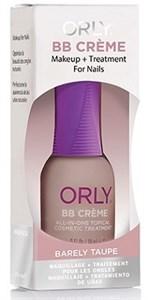 ORLY BB Creme Barely Taupe, 18мл.- Средство маскирует несовершенства ногтей, кофейный оттенок