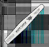 Kinetics Nail Files White Turtle, 180/180 грит - пилка Кинетикс для натуральных ногтей профессиональная