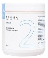 Saona Expert Line Sugar Paste 2 Ice, 1000 гр.- Очень мягкая разогреваемая сахарная паста для шугаринга Саона