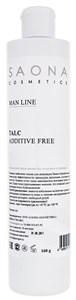 Saona Man Line Talc Pre-Epil Additive Free, 160 гр.- Тальк для кожи перед мужской депиляцией Саона