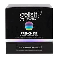 Gelish PolyGel French Kit - набор гелей для френч наращивания Гелиш Полигель