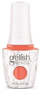"Harmony Gelish Gel Polish Rockin The Reef - Coral Creme, 15 мл. - гель лак Гелиш ""Коралловые бусы"""