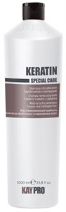 KAYPRO Keratin Shampoo, 1000 мл. - Восстанавливающий шампунь с кератином, для поврежденных волос