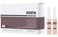 KAYPRO Keratin Lotion, 120 мл. - Лосьон в ампулах восстанавливающий с кератином, для поврежденных волос