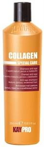 KAYPRO Collagen Shampoo, 350 мл. - Антивозрастной шампунь с коллагеном для зрелых, пористых и ослабленных волос