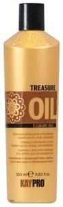 KAYPRO Treasure Oil Shampoo, 350 мл. - Увлажняющий и придающий блеск шампунь для сухих, хрупких, обезвоженных волос